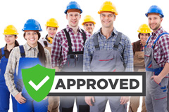 find local approved Bloomsbury trades